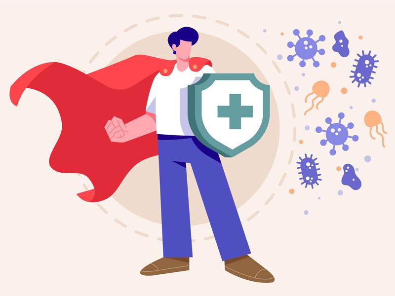 Ein Abwehrschild aufbauen und das Immunsystem stärken